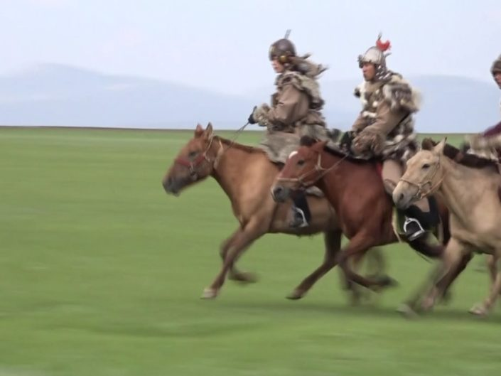 モンゴル騎馬隊撮影ツアーPV